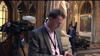 Lobby journalism in the House of Commons